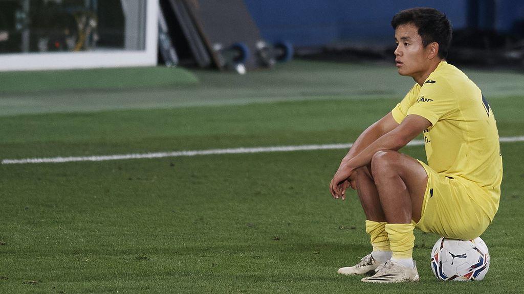 Kubo medita salir del Villarreal ante la falta de minutos y ya se ha reunido con directivos del Real Madrid