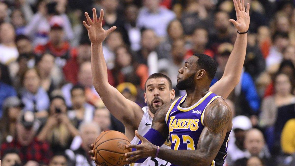Marc Gasol jugará dos temporadas en los Lakers.