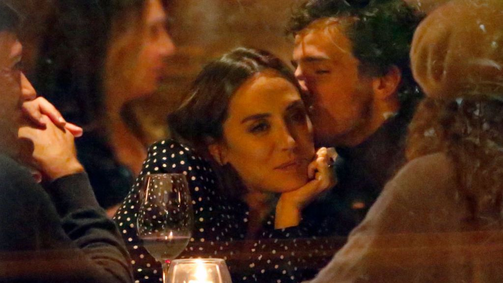 Tamara Falcó e Íñigo Onieva comparten confidencias en el restaurante