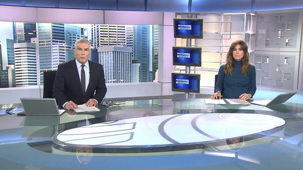 Con David Cantero e Isabel Jiménez Informativos Telecinco 2020 Mediodía 25/11/2020