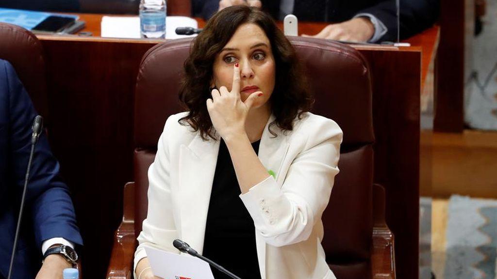 """Ayuso tras el pacto de ERC con Sánchez para subir impuestos en Madrid: """"Voy a ser su peor pesadilla"""""""