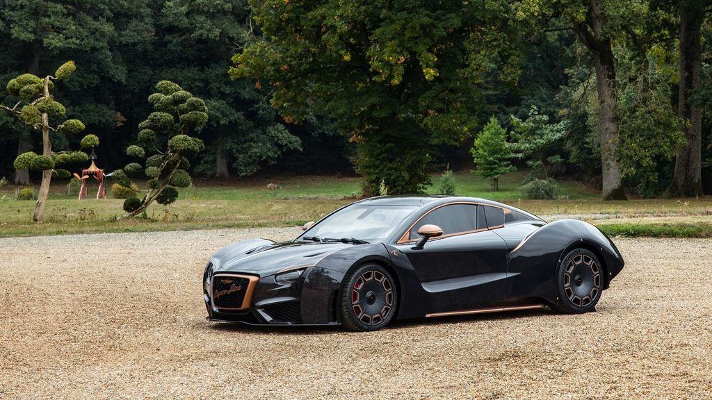 La española Hispano Suiza presenta su segundo modelo, el Carmen Boulogne, con 1.114 caballos