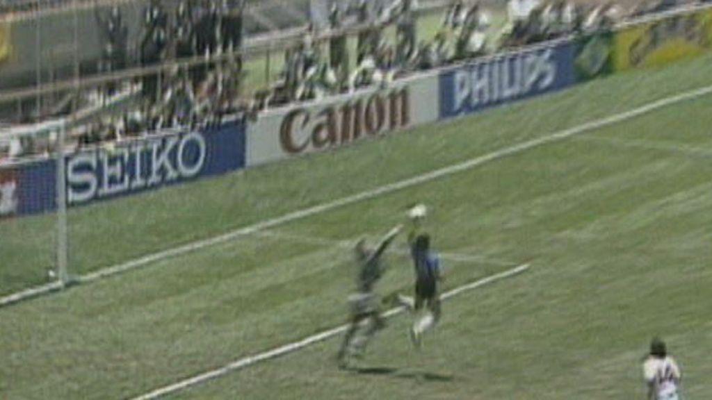 La mano de Dios o el gol antológico de Maradona para la historia del fútbol
