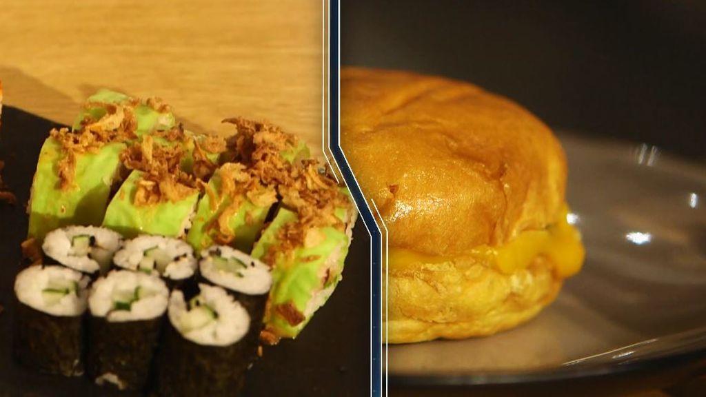 El sushi puede llegar a engordar tanto como una hamburguesa o una pizza