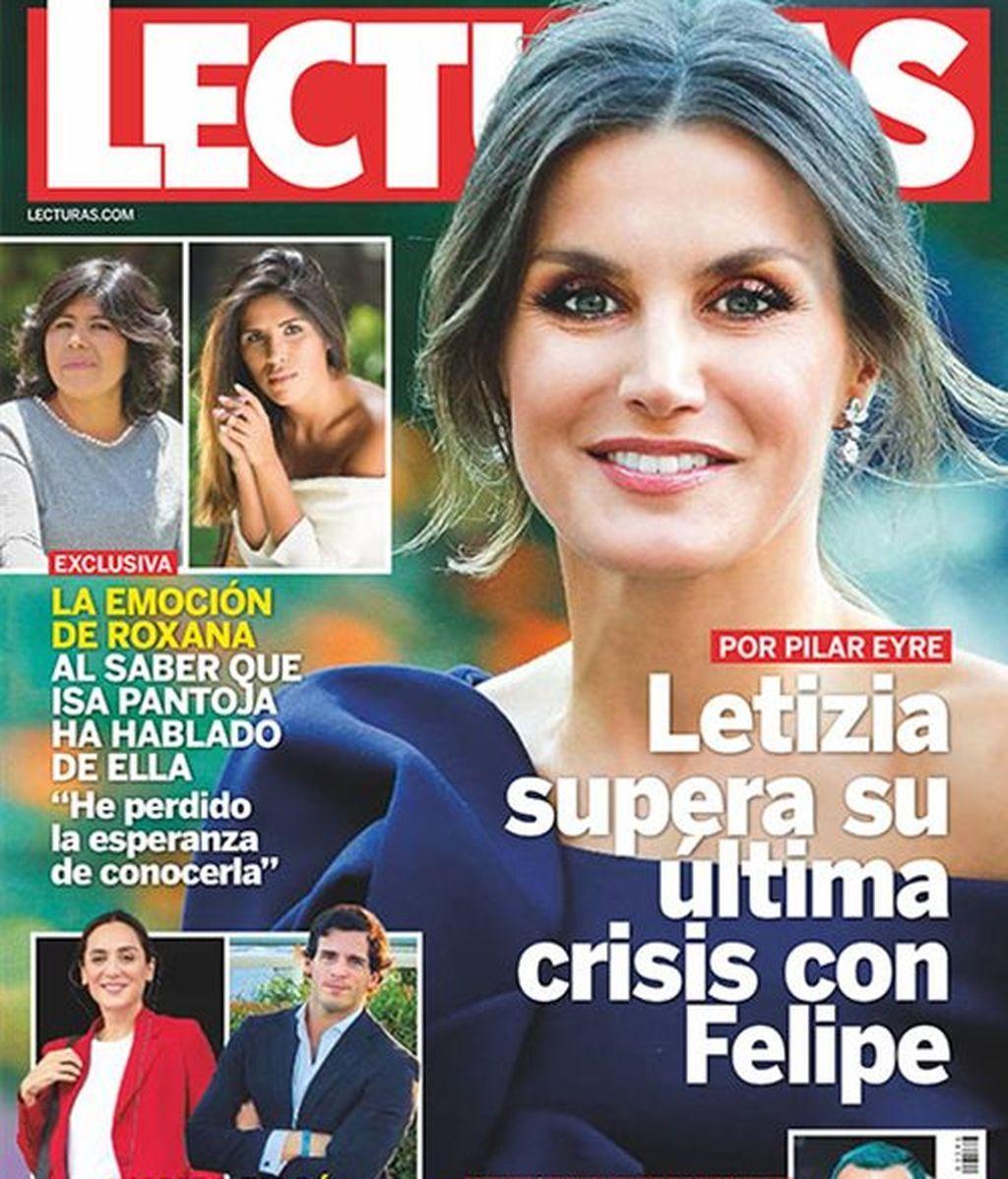 La crisis superada de Felipe y Letizia