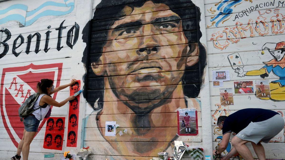 El mensaje de Gianinna, hija de Maradona, instantes antes de la muerte del ídolo argentino