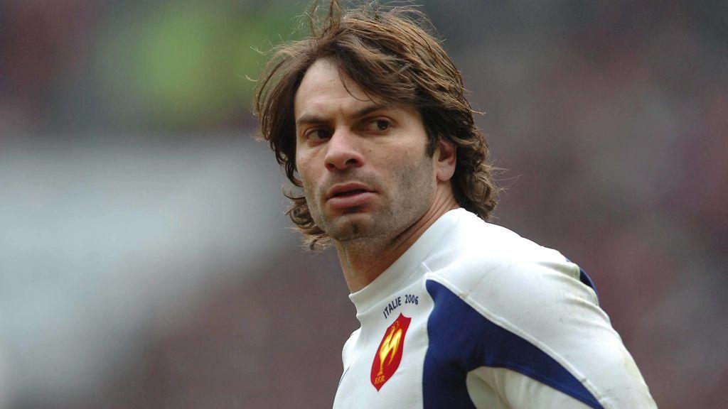 Christophe Dominici, figura del rugby con Francia.