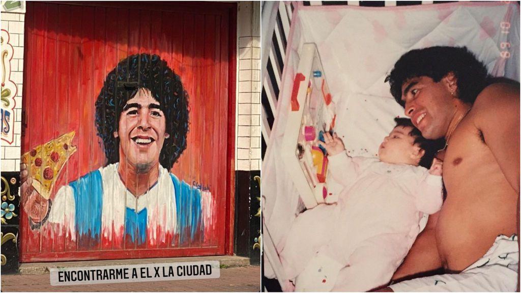 """El dolor de Dalma y Gianinna, hijas de Maradona, tras su pérdida: """"De la cuna, a la eternidad"""""""
