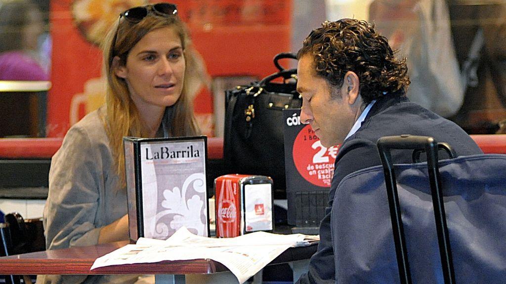 Álvaro Fuster con su mujer, Beatriz Mira