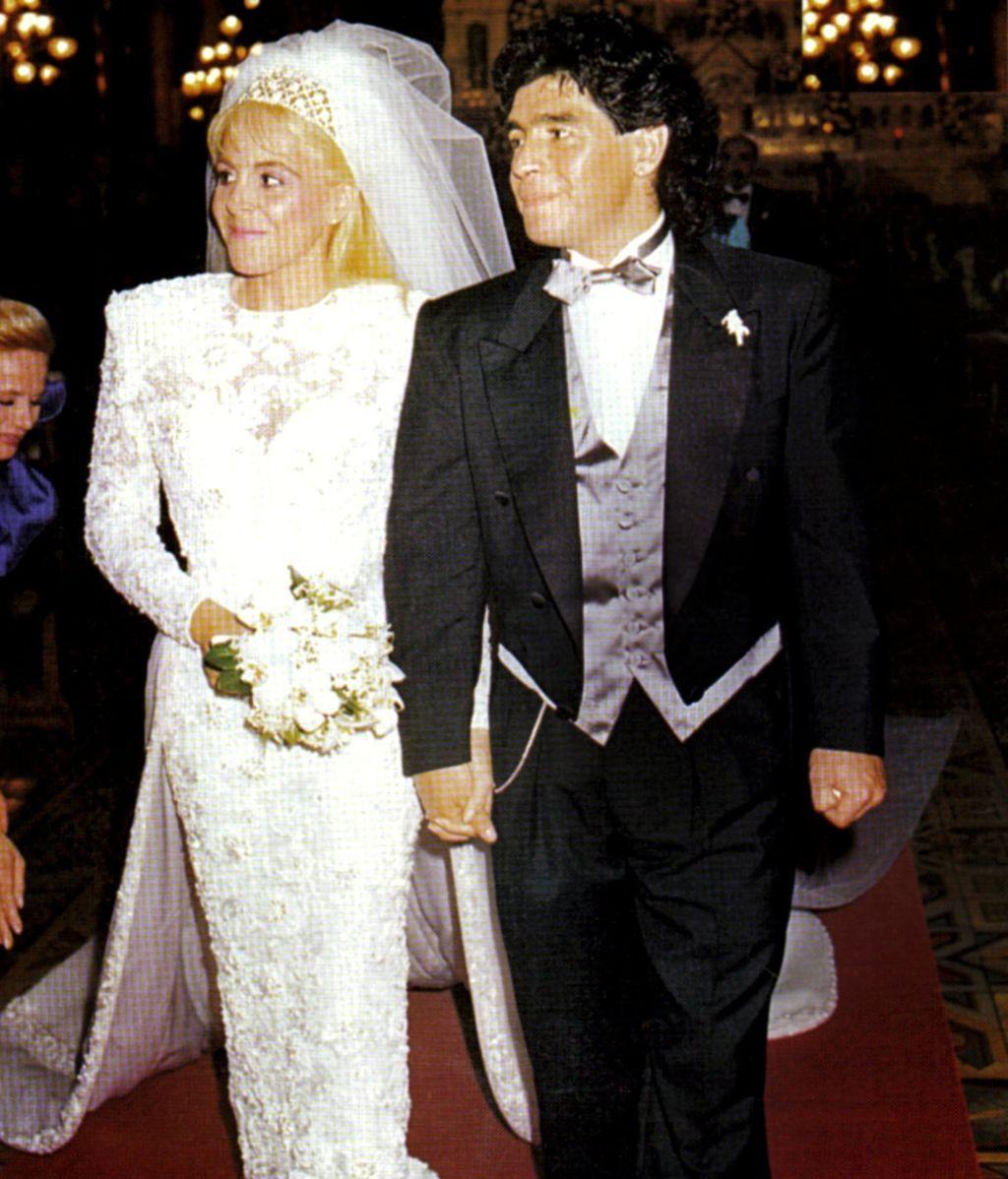 Boda de Maradona y Claudia Villafañe