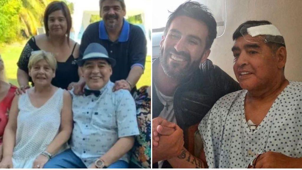 """Las últimas palabras de Maradona a su sobrino Jonatan unas horas antes de fallecer: """"No me encuentro bien"""""""