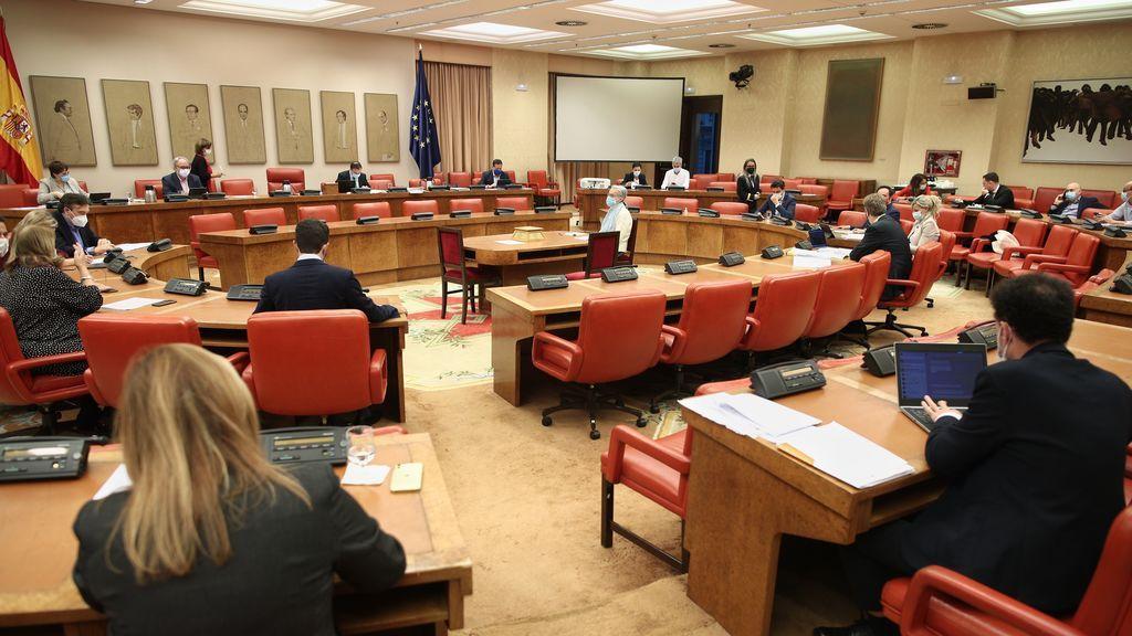 El Presupuesto va al Pleno enmendado con apoyo de PSOE, UP, ERC, PNV y Bildu