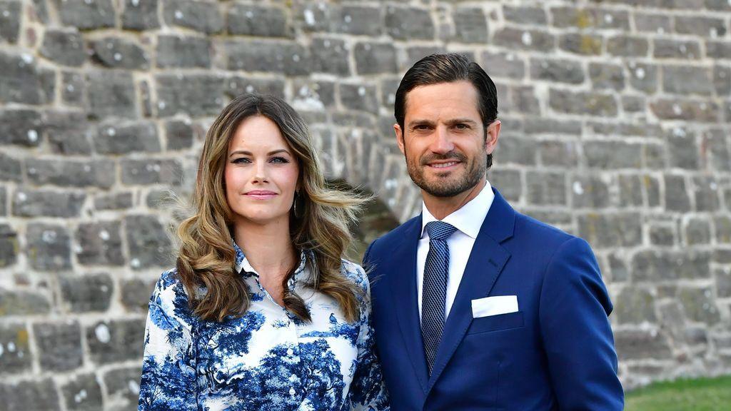 Los príncipes Carlos Felipe y Sofía de Suecia dan positivo por coronavirus