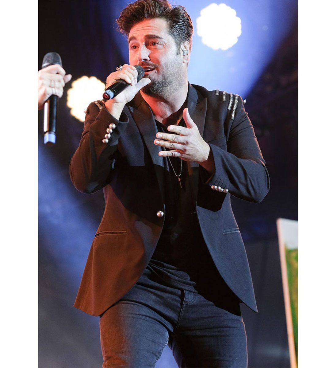 David Bustamante, en julio de 2019
