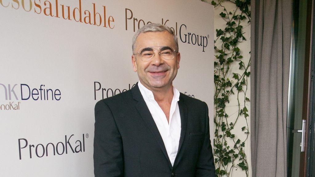 Jorge Javier Vázquez, en el photocall de PronoKal, en marzo de 2020