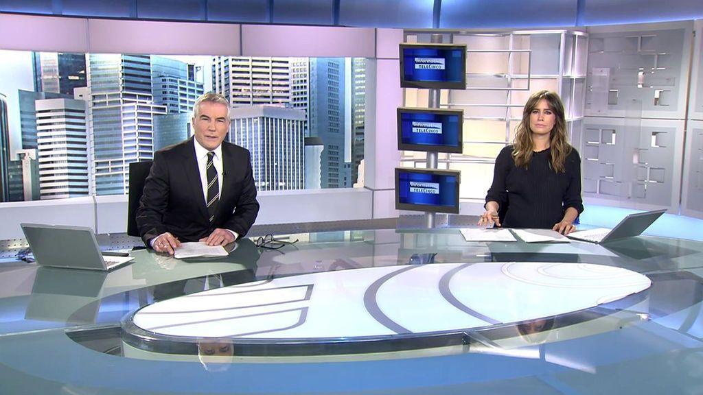 Con David Cantero e Isabel Jiménez Informativos Telecinco 2020 Mediodía 26/11/2020