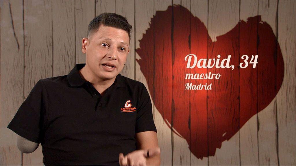 """David se enfrenta a su nueva vida sin dejar de sonreír: """"Estoy aprendiendo a manejarme con la izquierda"""""""