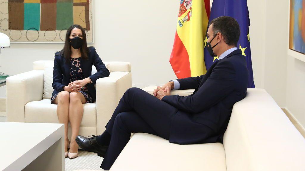 """El """"no"""" de Ciudadanos a los Presupuestos deja a Sánchez a expensas de sus socios de investidura"""