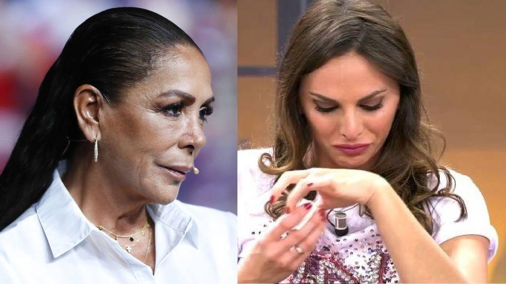 Isabel Pantoja no puede ir al tanatorio del padre de Irene Rosales