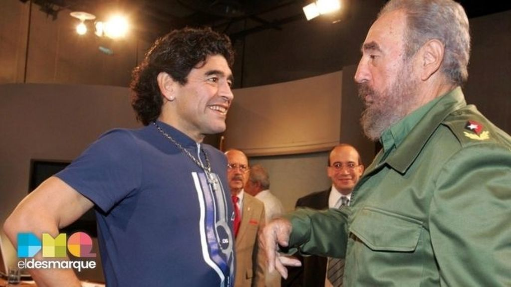 Maradona_Fidel