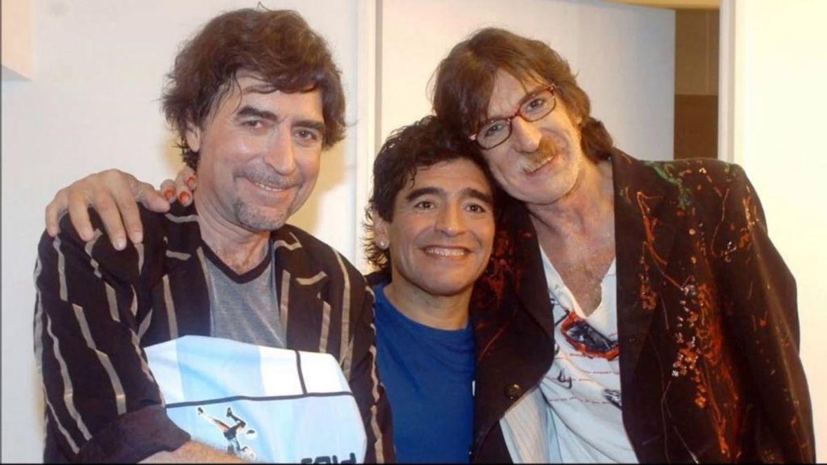 """Cuando Maradona entrevistó a Joaquín Sabina: """"Como padre soy bastante desastre, pero cumplo con mis obligaciones"""""""