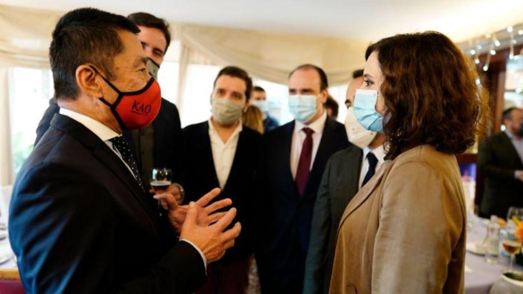 Ayuso se marcha a Barcelona en plena guerra fiscal para enmendarle la plana a la Generalitat