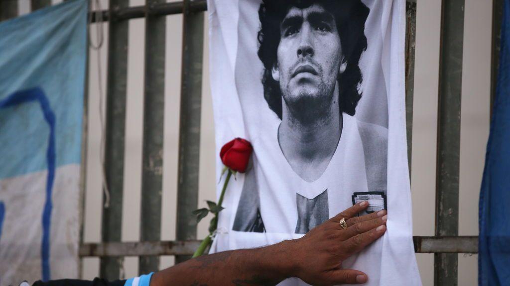 La despedida de Diego Maradona, en directo: Argentina llora a su 'Dios'