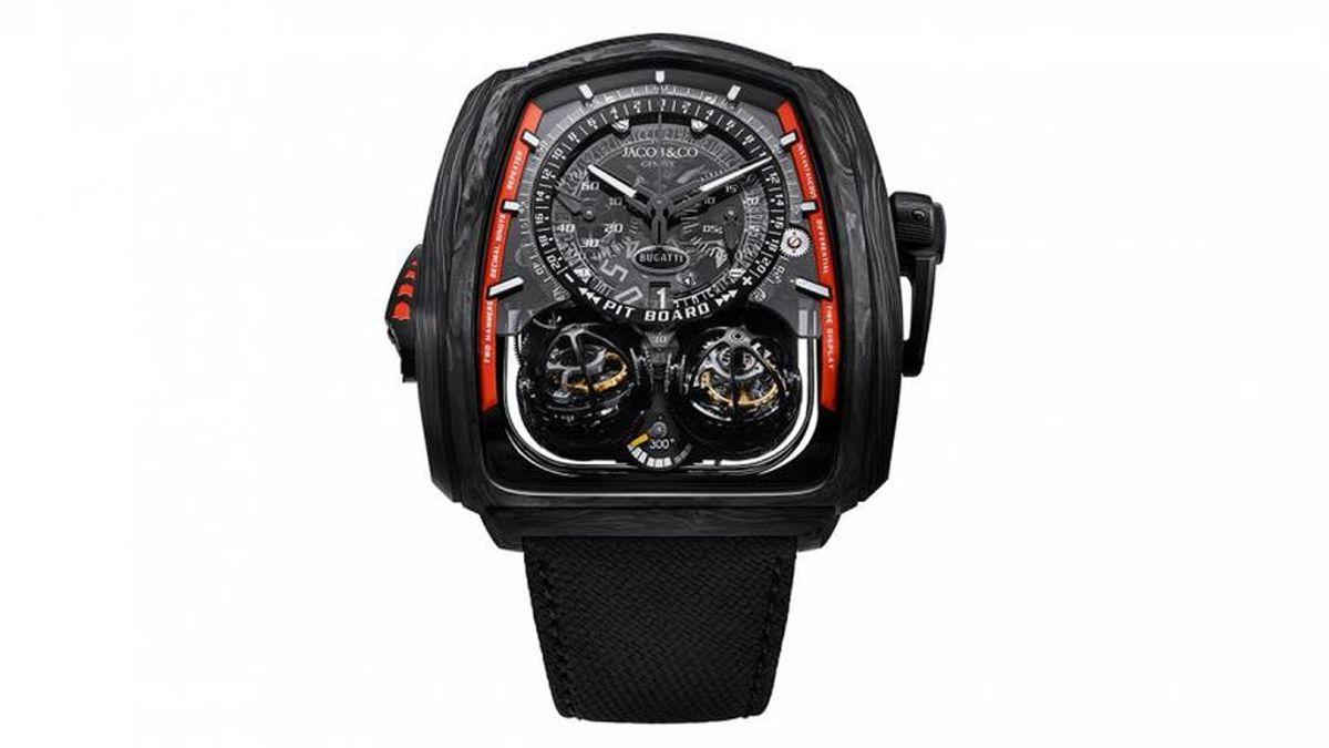 Twin Turbo Furious Bugatti 300+ : el reloj de más de 500.000 euros de Bugatti y Jacob & Co