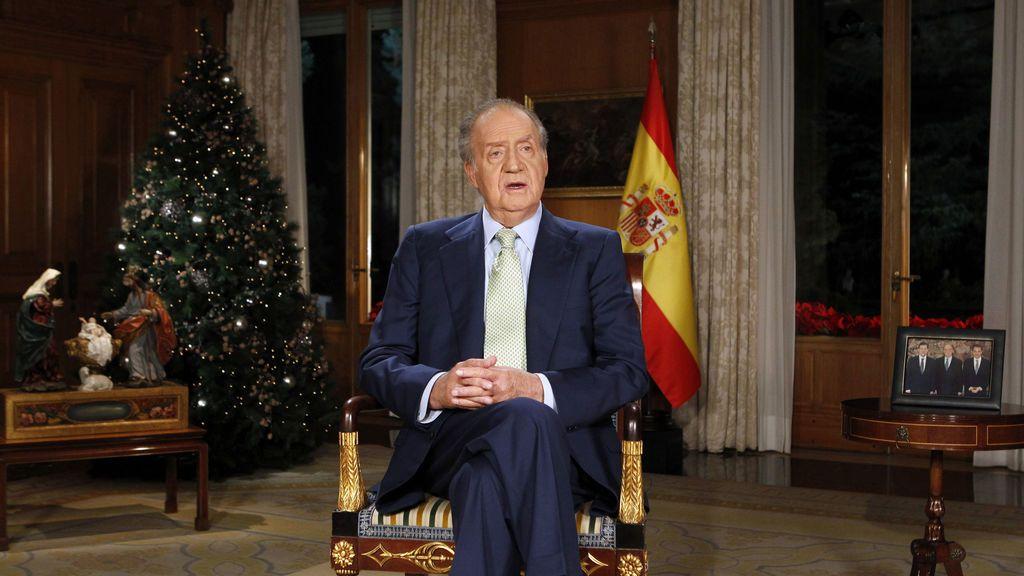 Los momentos del rey Juan Carlos y sus navidades