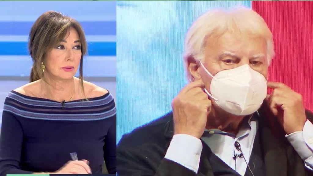 Ana Rosa confiesa qué le dijo Felipe González