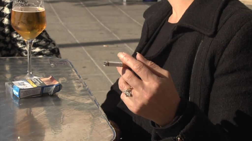 Fumar al aire libre