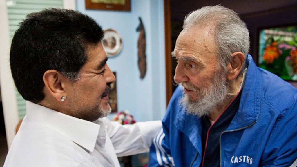Maradona Castro ultima foto