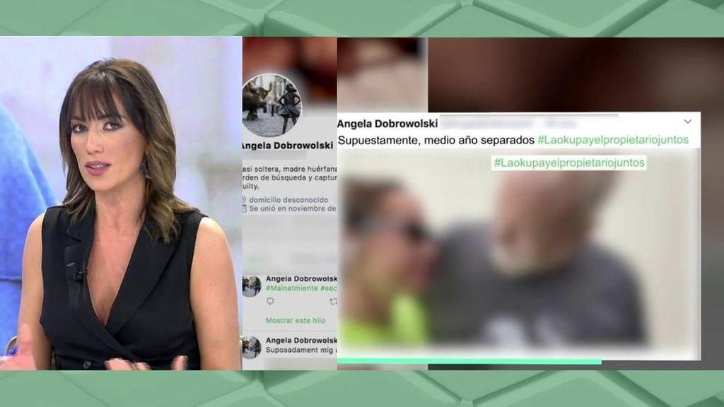 Angela Dobrowolski publica imágenes privadas con Mainat