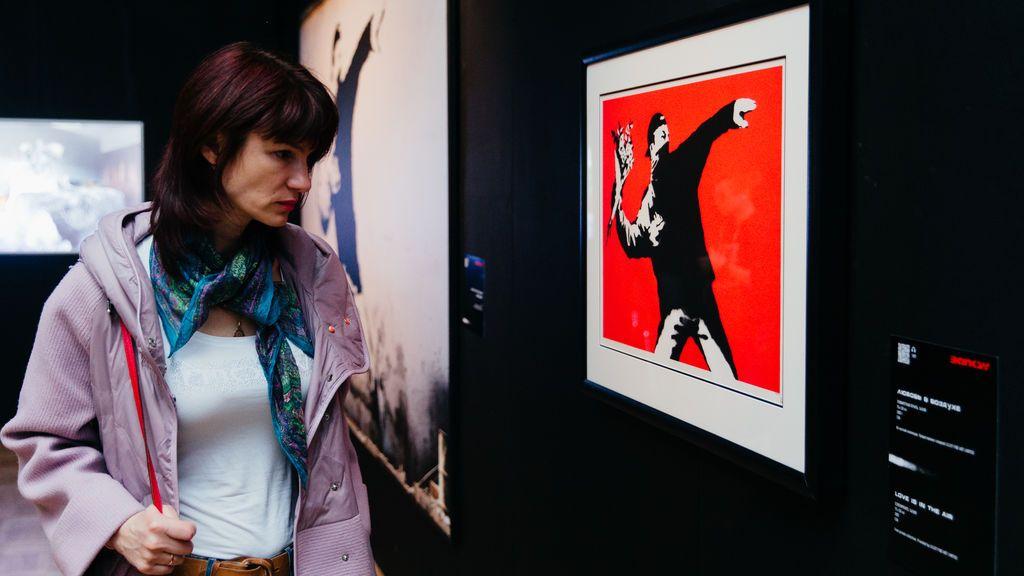 Banksy vuelve a Madrid: su genialidad y su lado gamberro a través de 50 obras inéditas