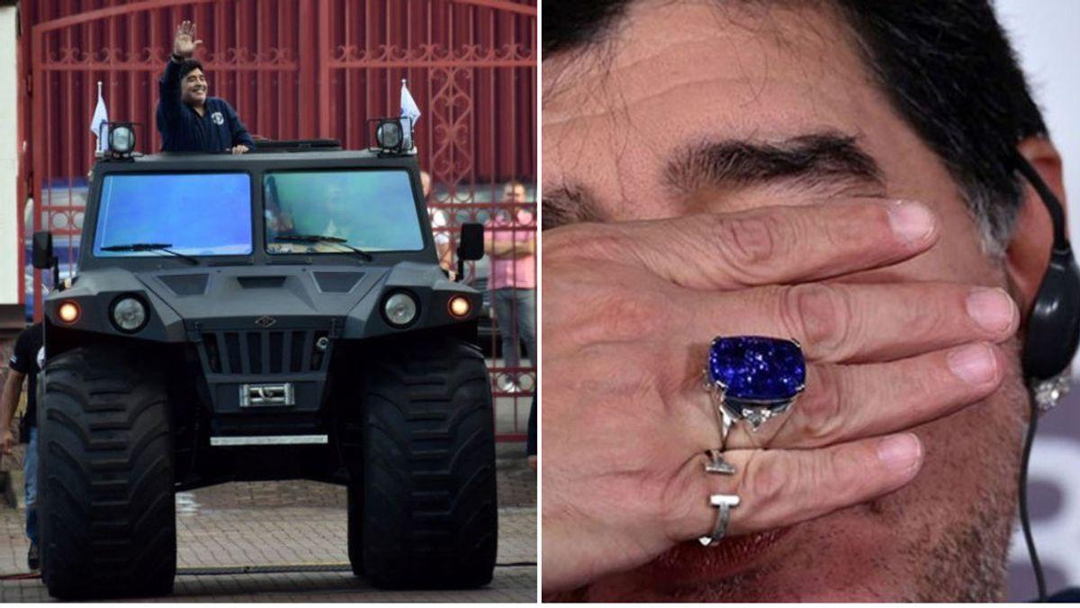 La millonaria herencia de Maradona: decenas de casas, coches, joyas de lujo, inversiones  y hasta hoteles