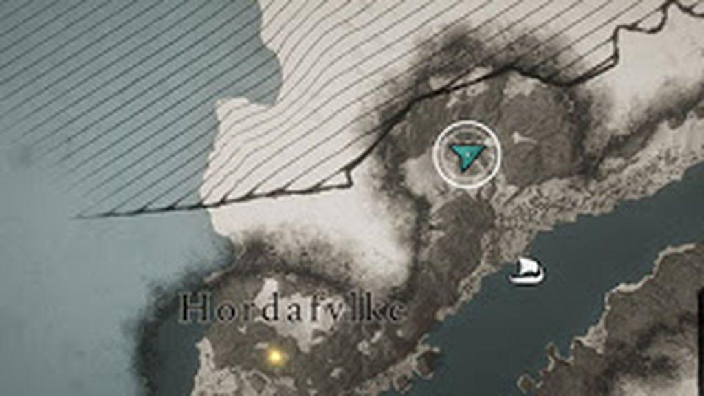Localización del Mjolnir