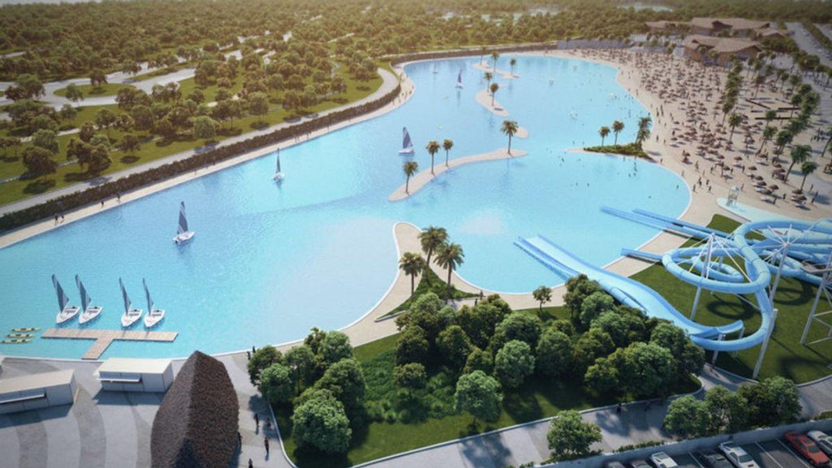 Alovera Beach, la playa artificial más grande de Europa, acercará los chiringuitos a 40 minutos de Madrid