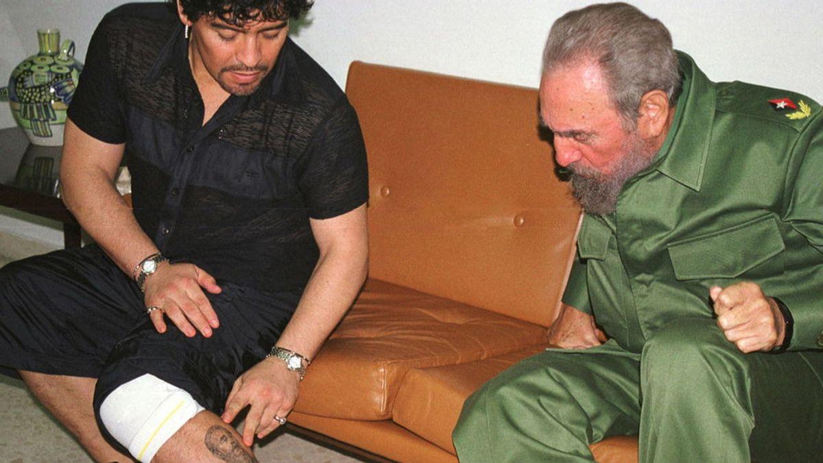 Dios en La Habana: Maradona, Fidel Castro y...