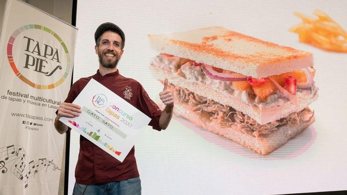 Un sándwich club estilo Segovia