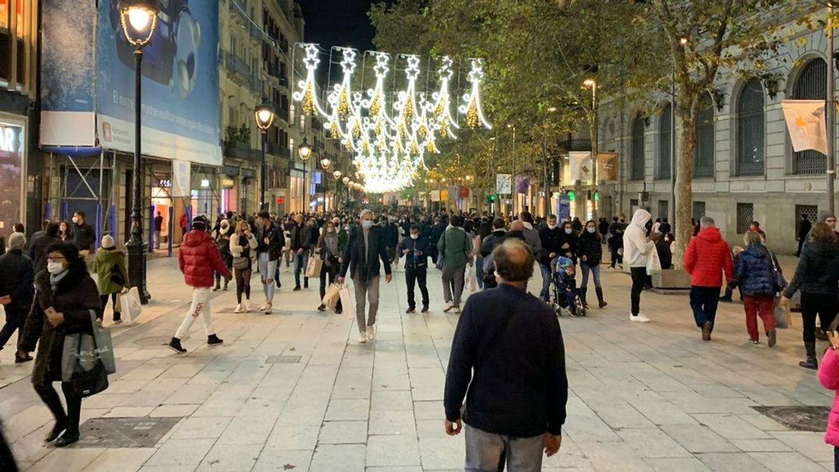 Cataluña y su primer fin de semana de reapertura:  Black Friday y terrazas sin ambiente