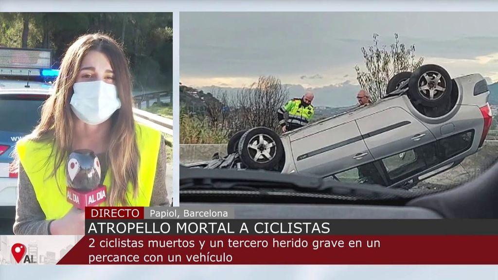 Dos ciclistas mueren y otro se encuentra en estado crítico tras sufrir un accidente en Barcelona