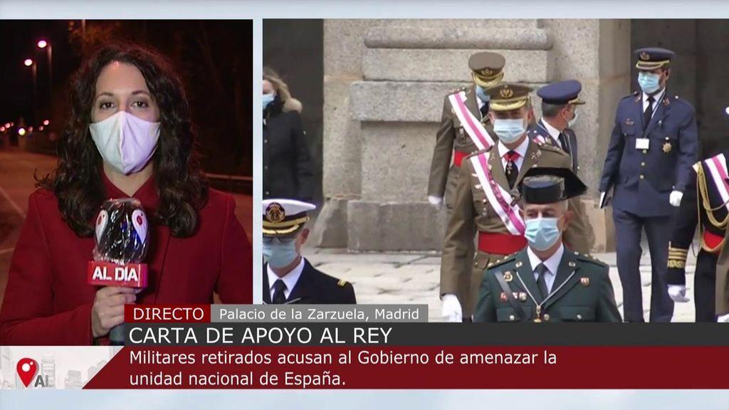 """Mandos retirados del Ejército firman una carta dirigida al Rey acusando al Gobierno de amenazar la """"unidad nacional"""""""