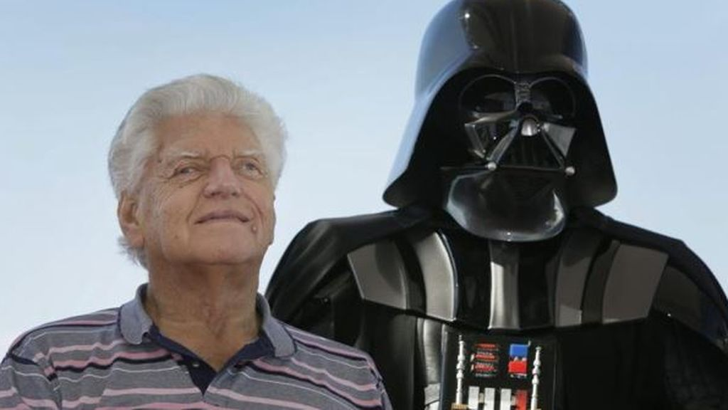 Muere el actor británico David Prowse, conocido por interpretar a Darth Vader en 'Star Wars'