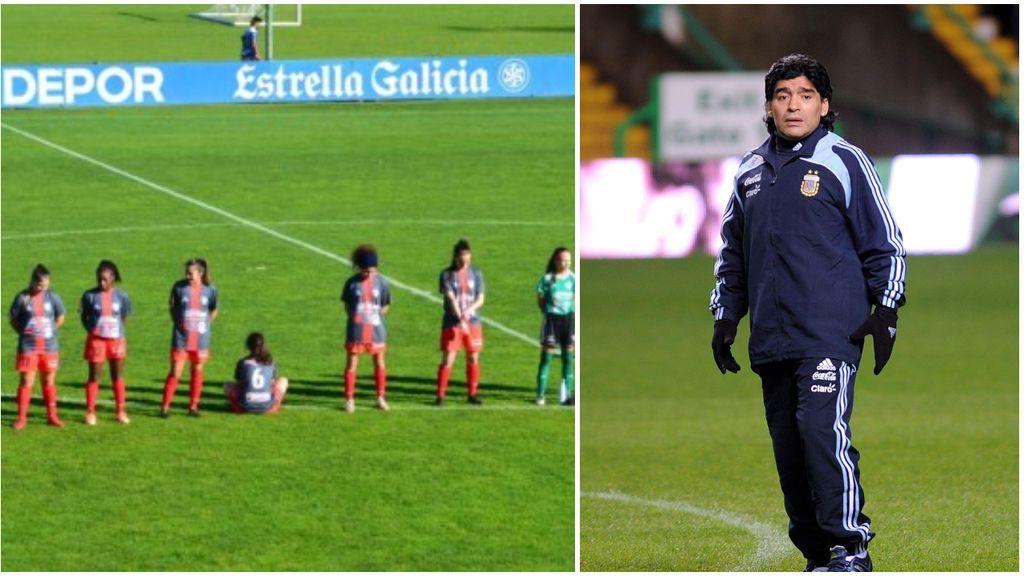 """Una futbolista se niega a guardar el minuto de silencio por Maradona: """"No estoy dispuesta a hacerlo por un abusador"""""""