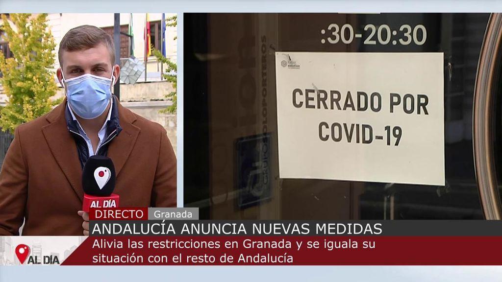 La Junta relaja restricciones en Granada, que podrá abrir comercio y hostelería hasta las 18 horas