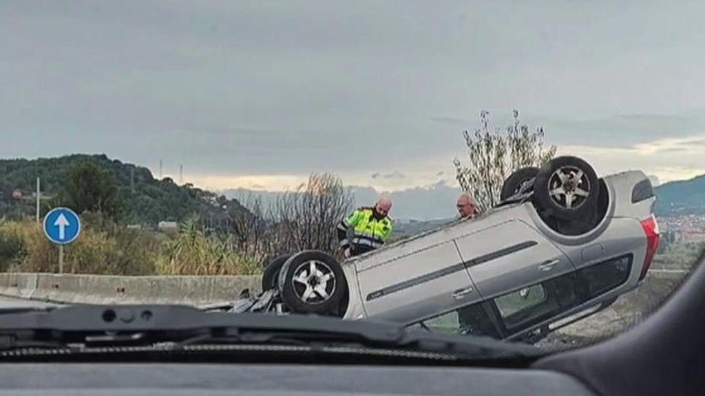 Mueren dos ciclistas y uno queda crítico en un accidente en El Papiol, en Barcelona