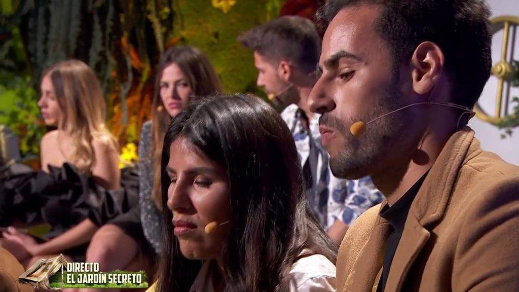 Isa y Asraf, 'tocados' ante las insinuaciones de Marta tras una discusión