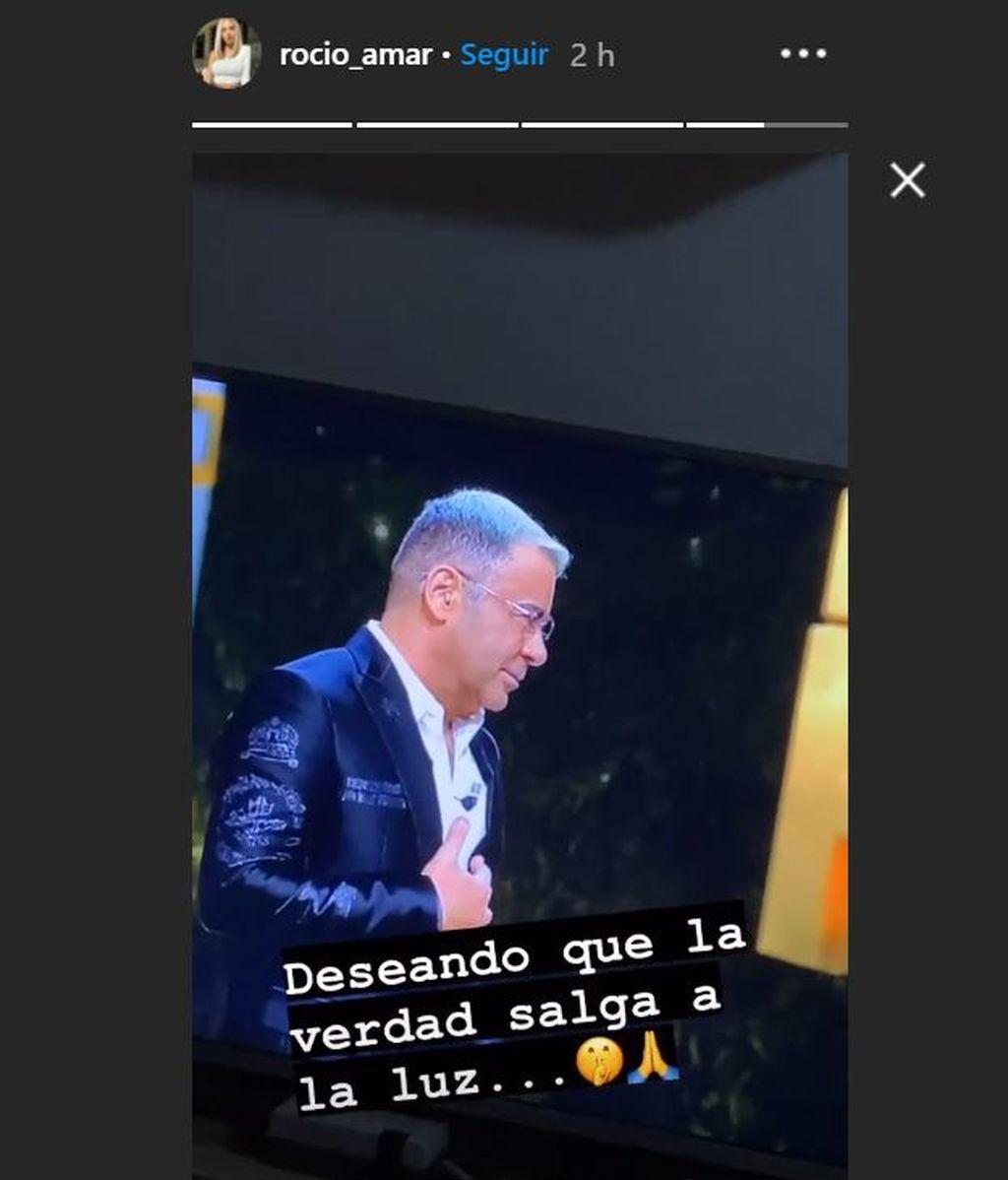 Rocio Amar en su Instagram