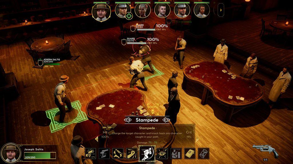 Saltis - Combat Screenshot 2