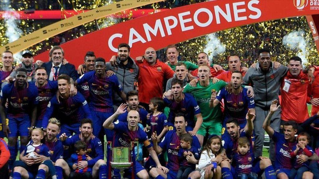 ¿Qué equipos han ganado mas Copas del Rey?